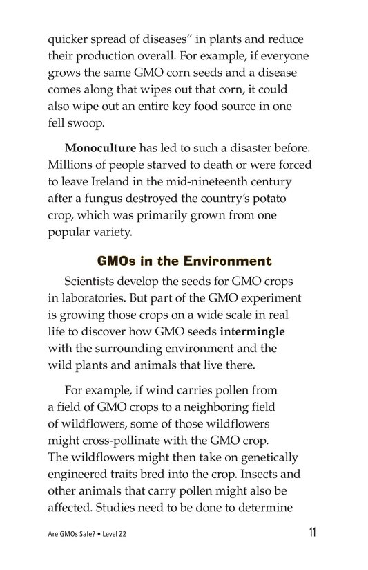 Book Preview For Are GMOs Safe? Page 11