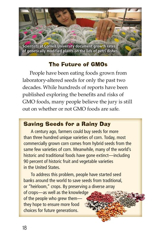 Book Preview For Are GMOs Safe? Page 18