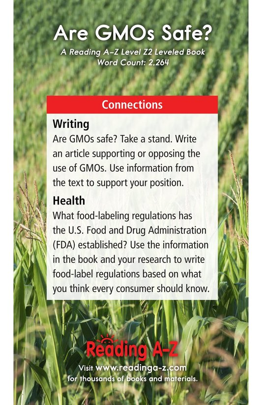 Book Preview For Are GMOs Safe? Page 21