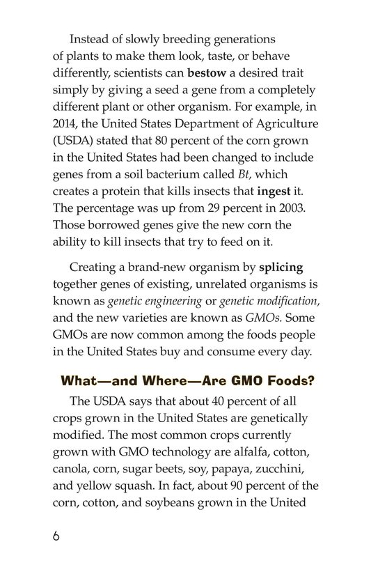 Book Preview For Are GMOs Safe? Page 6