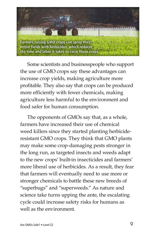 Book Preview For Are GMOs Safe? Page 9