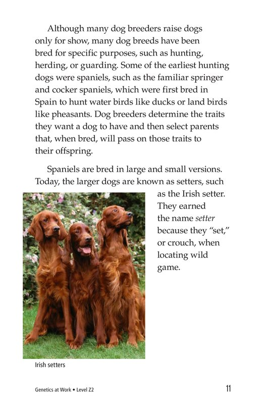 Book Preview For Genetics At Work Page 11