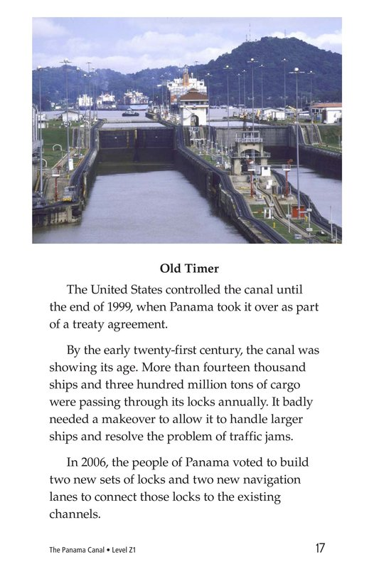 Book Preview For The Panama Canal Page 17