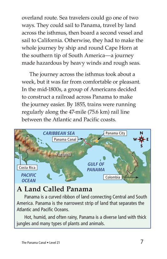 Book Preview For The Panama Canal Page 7