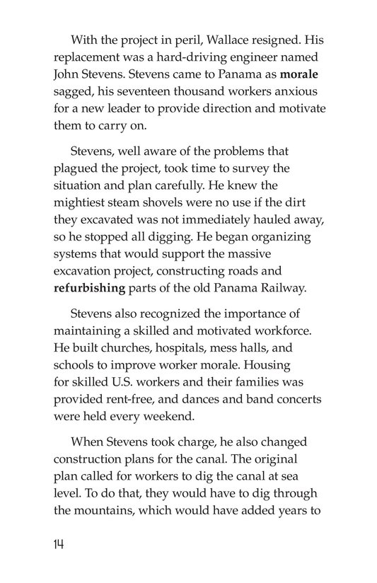 Book Preview For The Panama Canal Page 14