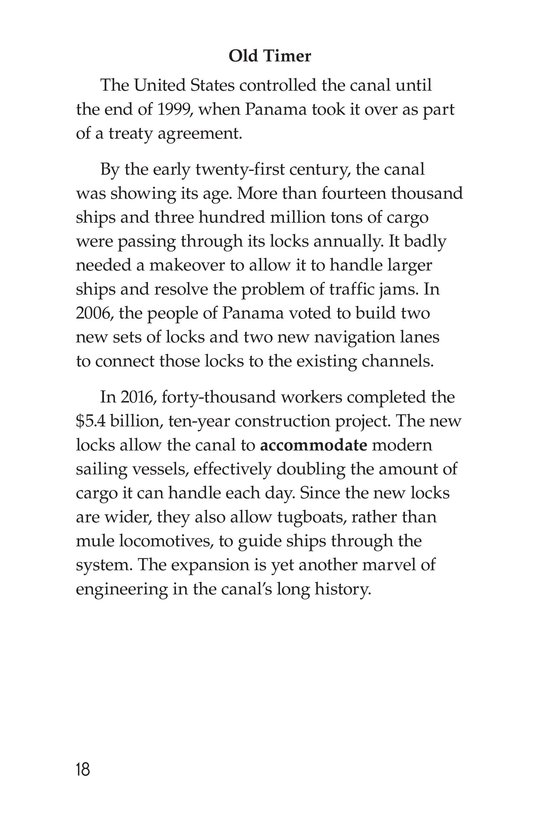Book Preview For The Panama Canal Page 18