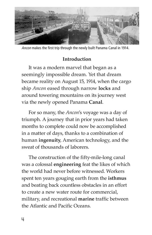 Book Preview For The Panama Canal Page 4