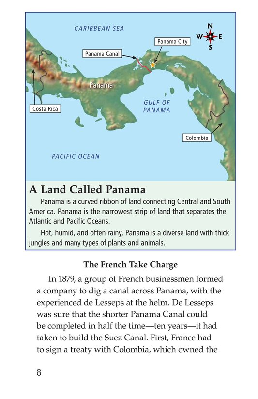 Book Preview For The Panama Canal Page 8