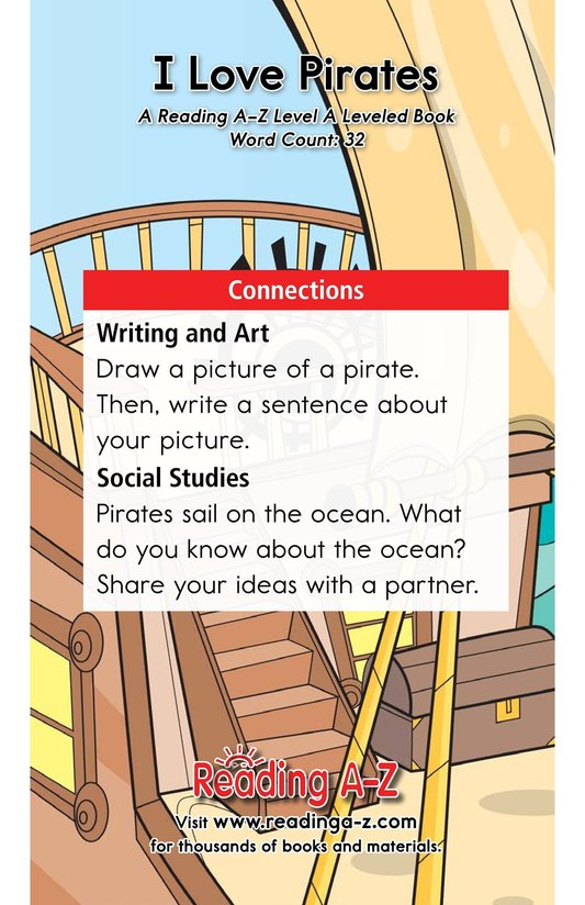 Book Preview For I Love Pirates Page 11