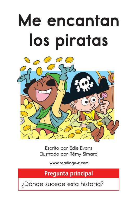 Book Preview For I Love Pirates Page 1