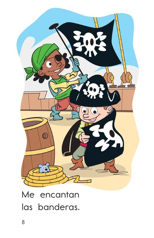 Book Preview For I Love Pirates Page 8