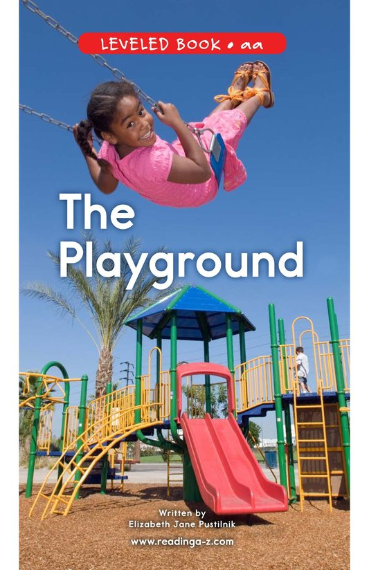 Book Preview For The Playground Page 0