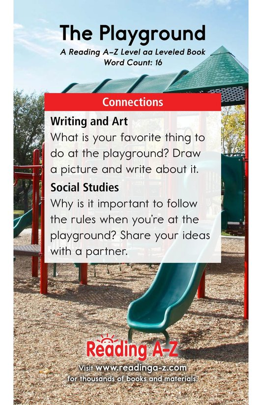 Book Preview For The Playground Page 11