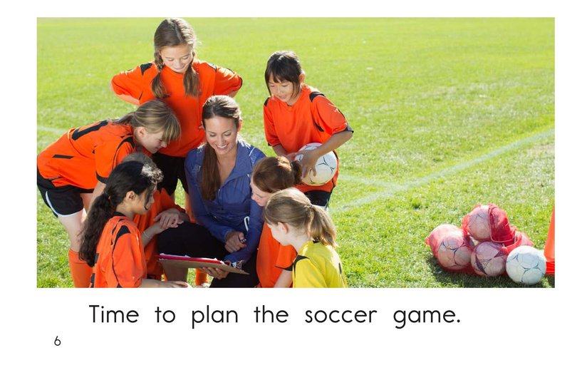 Book Preview For Time for Soccer Page 6