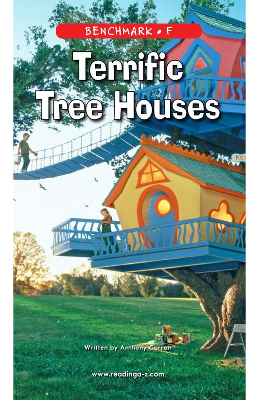 Book Preview For Terrific Tree Houses Page 1