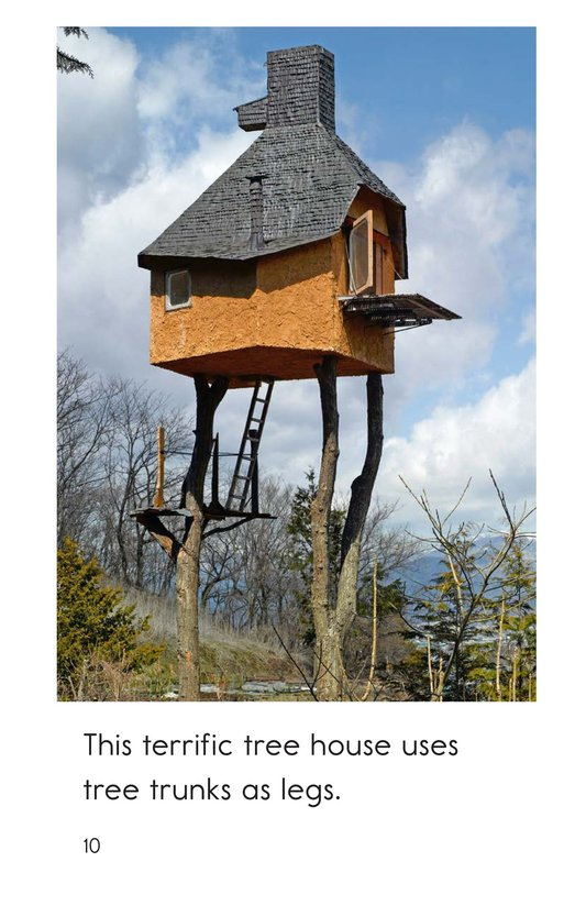Book Preview For Terrific Tree Houses Page 10