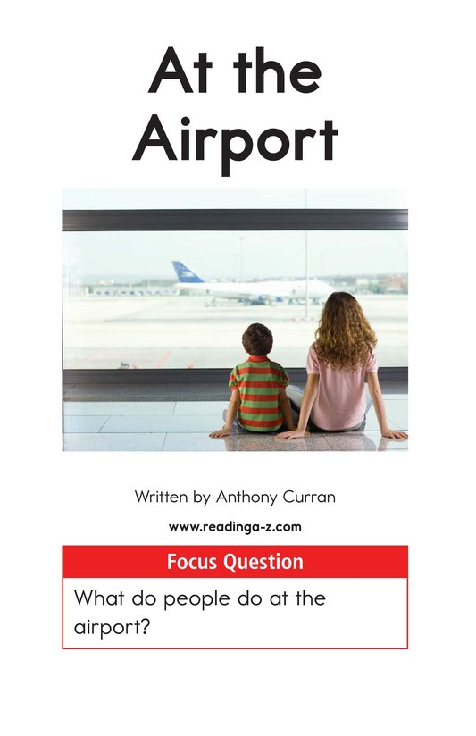 Book Preview For At the Airport Page 1
