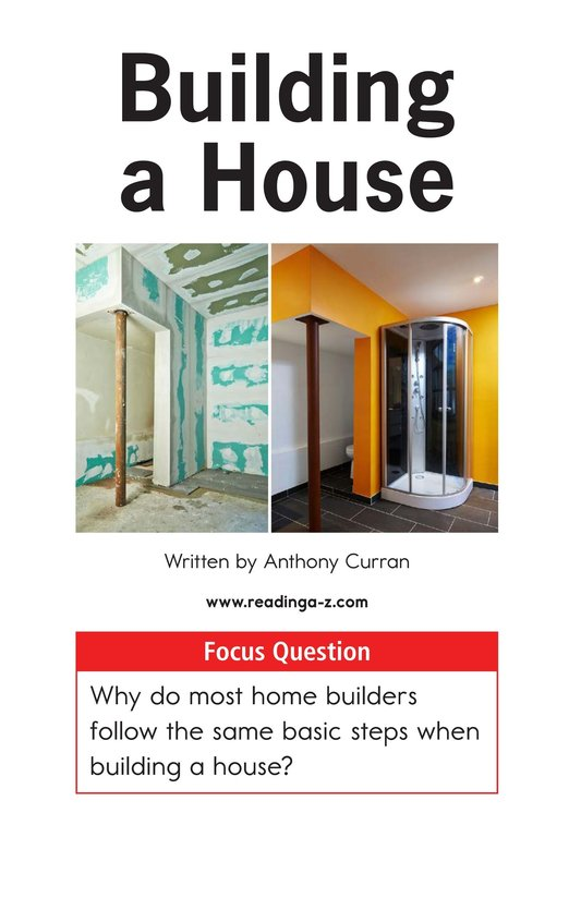 Book Preview For Building a House Page 1