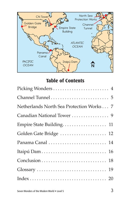 Book Preview For Seven Wonders of the Modern World Page 3