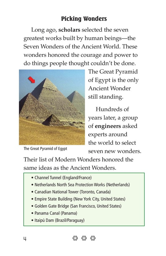 Book Preview For Seven Wonders of the Modern World Page 4