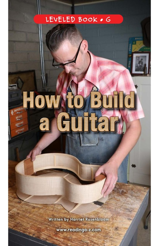 Book Preview For How to Build a Guitar Page 0