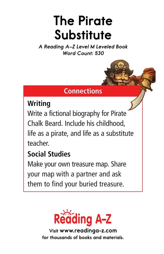 Book Preview For The Pirate Substitute Page 17