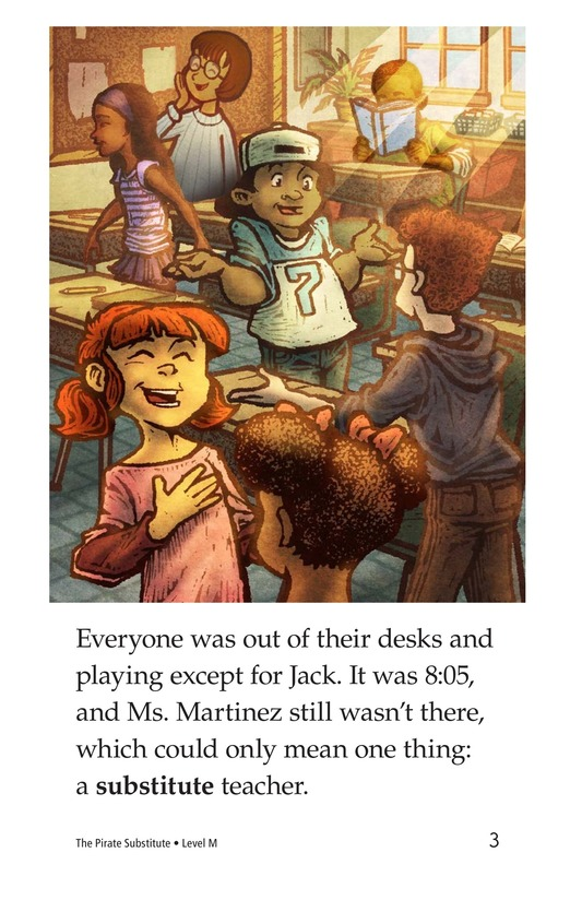 Book Preview For The Pirate Substitute Page 3
