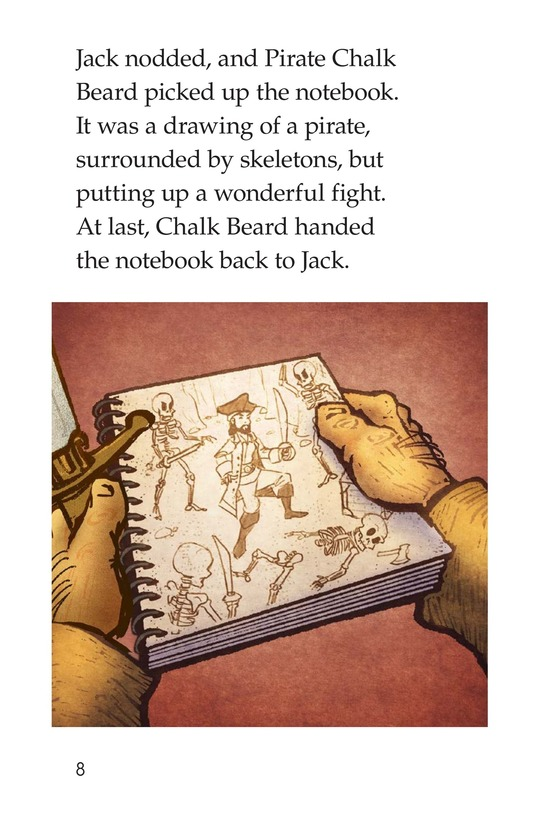 Book Preview For The Pirate Substitute Page 8