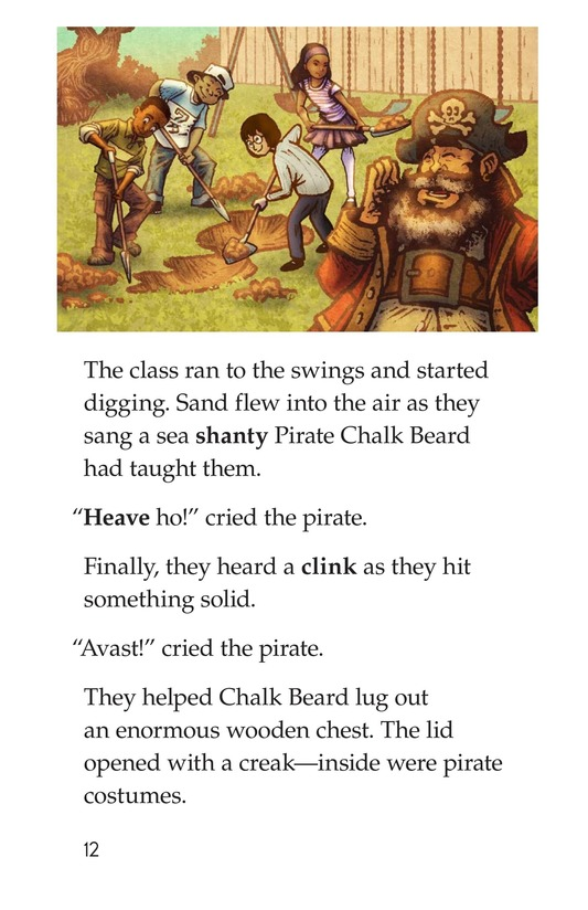 Book Preview For The Pirate Substitute Page 12