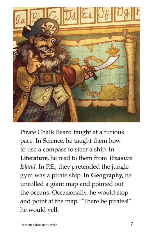 Book Preview For The Pirate Substitute Page 7