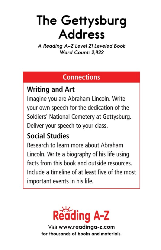 Book Preview For The Gettysburg Address Page 25