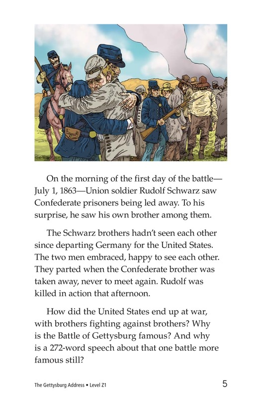 Book Preview For The Gettysburg Address Page 5