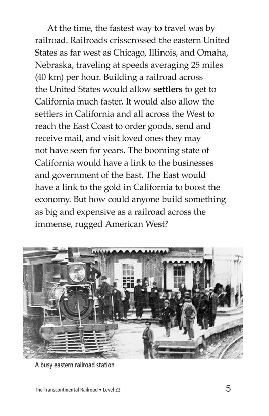 Book Preview For The Transcontinental Railroad Page 5