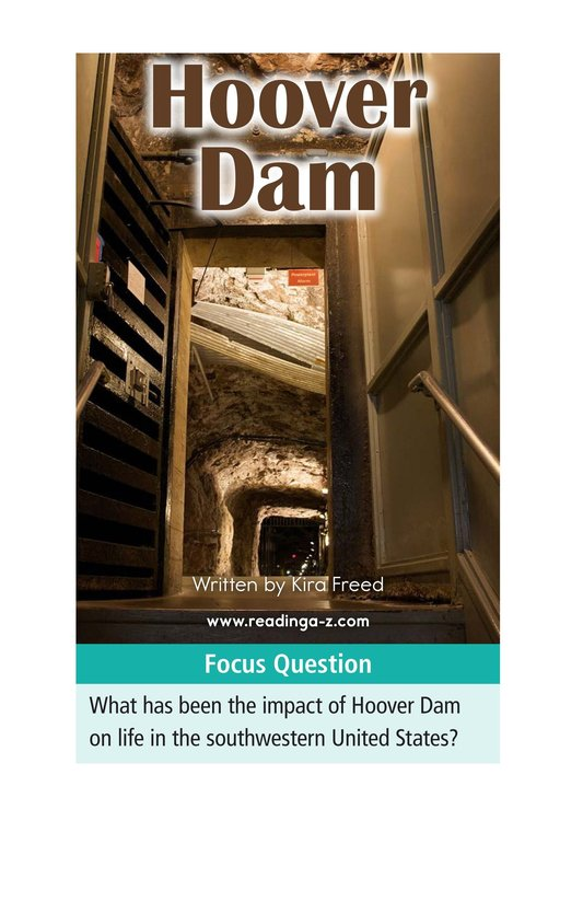 Book Preview For Hoover Dam Page 1