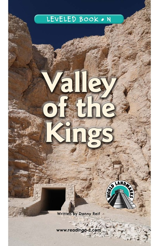 Book Preview For Valley of the Kings Page 0
