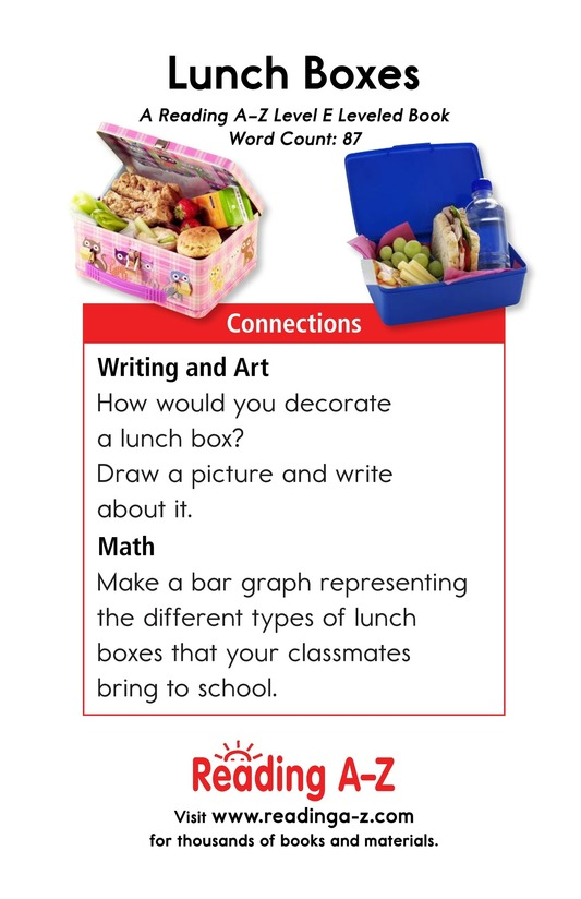 Book Preview For Lunch Boxes Page 13