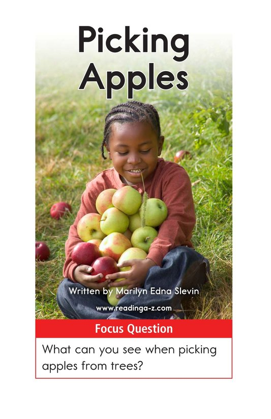 Book Preview For Picking Apples Page 1