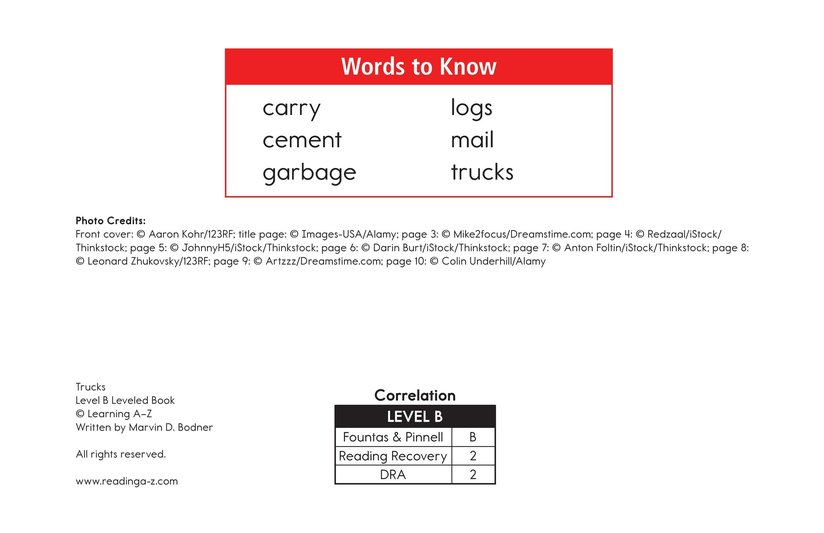 Book Preview For Trucks Page 2