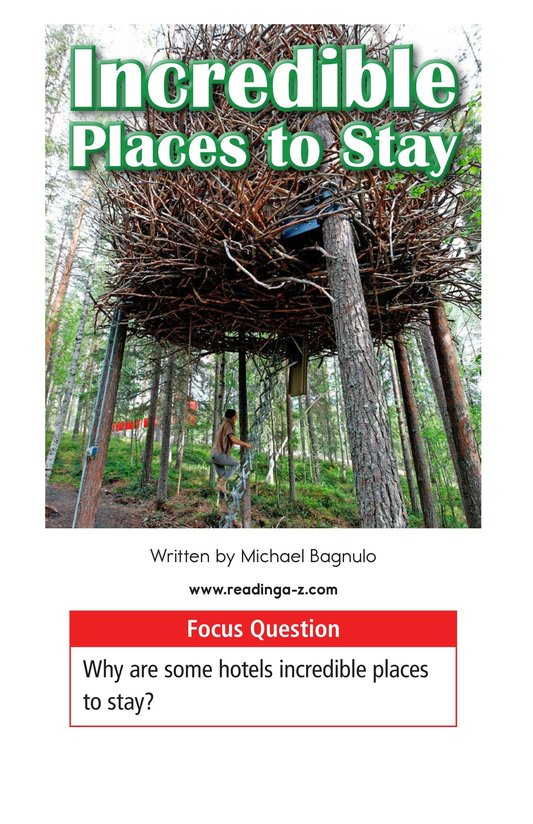Book Preview For Incredible Places to Stay Page 1