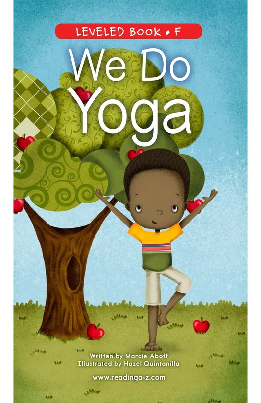 Book Preview For We Do Yoga Page 0