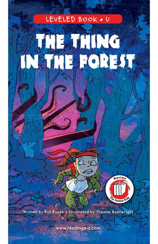 Book Preview For The Thing in the Forest Page 0