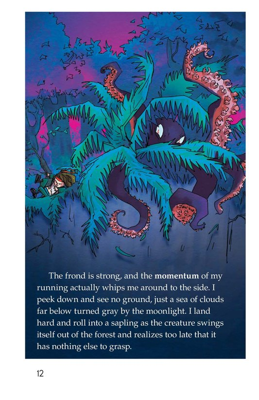 Book Preview For The Thing in the Forest Page 12