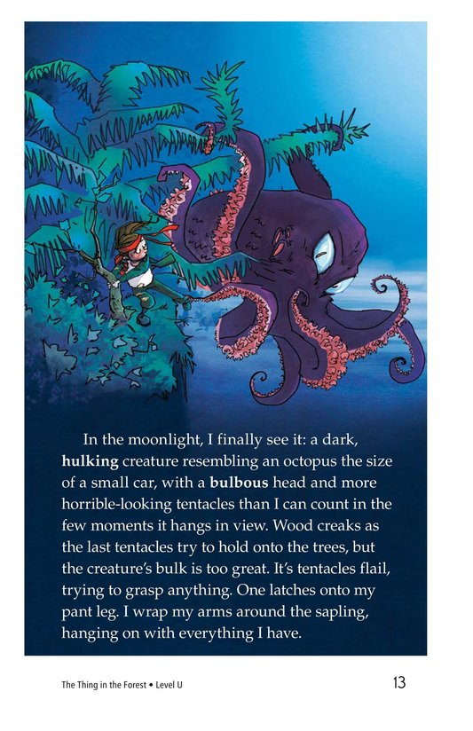 Book Preview For The Thing in the Forest Page 13