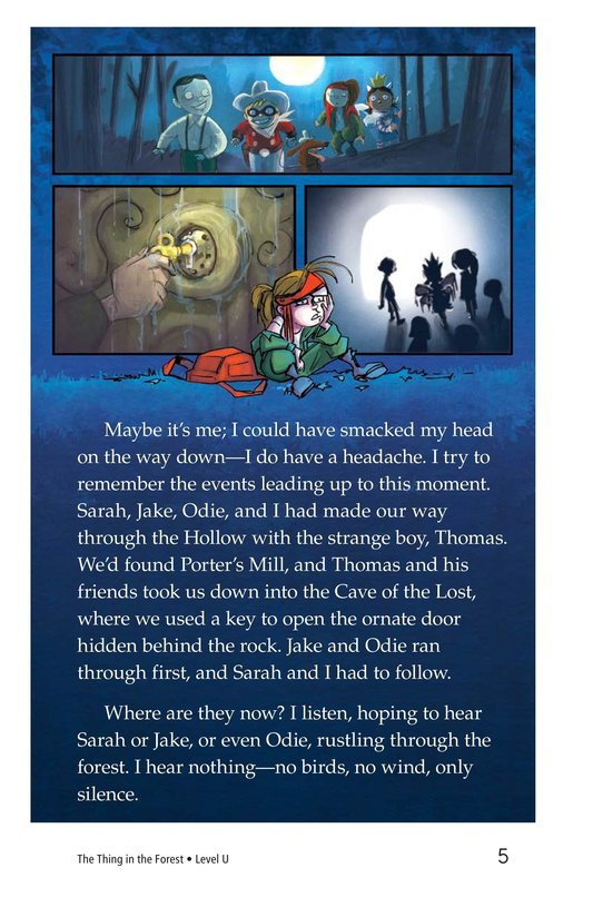 Book Preview For The Thing in the Forest Page 5
