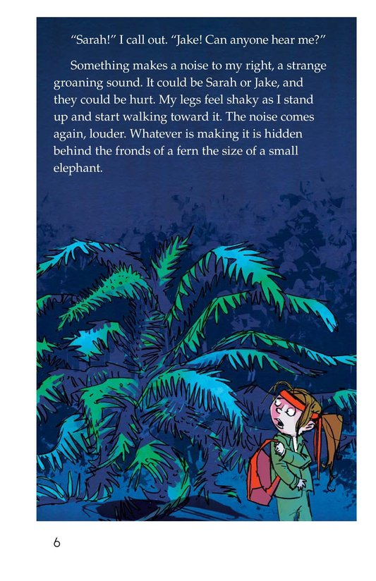 Book Preview For The Thing in the Forest Page 6