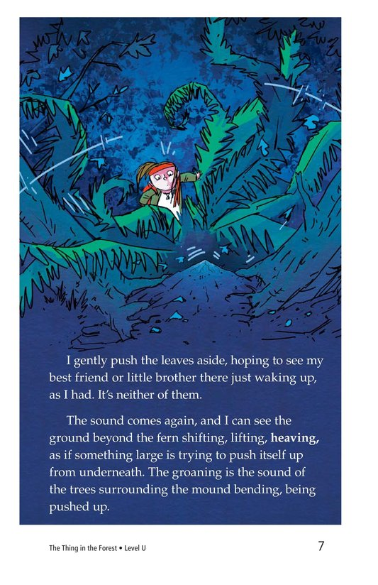 Book Preview For The Thing in the Forest Page 7