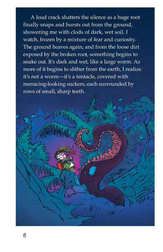 Book Preview For The Thing in the Forest Page 8