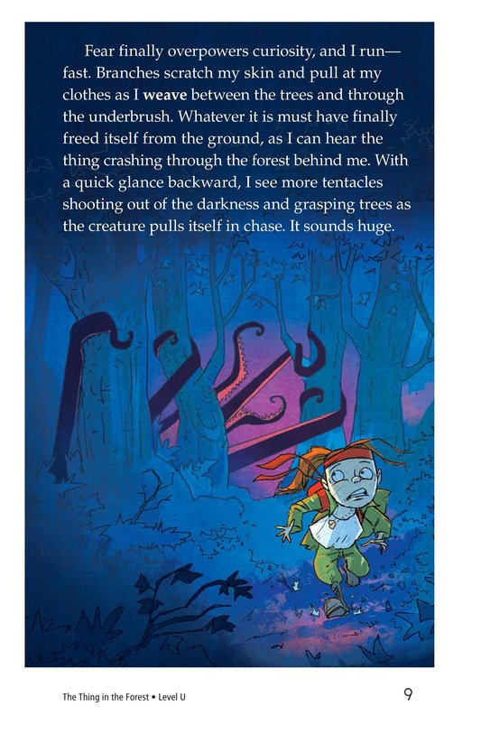 Book Preview For The Thing in the Forest Page 9