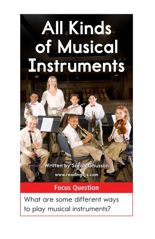 Book Preview For All Kinds of Musical Instruments Page 1