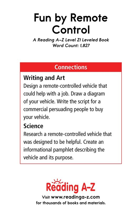Book Preview For Fun by Remote Control Page 21